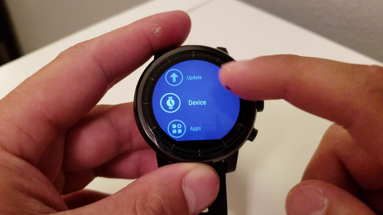 How To Reset Your Amazfit Stratos & Amazfit Pace
