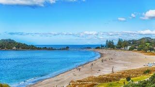 Самый красивый пляж Новой Зеландии /// Достопримечательности Новой Зеландии