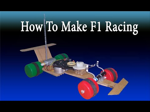 Tutorial diy formula 1 racing car remote control how to for How to build a motor controller