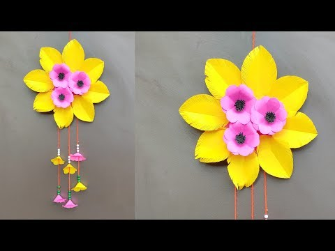 DIY Wall Hanging Decoration / Paper Craft Ideas / Room Decor Crafts / Best Out Of Waste