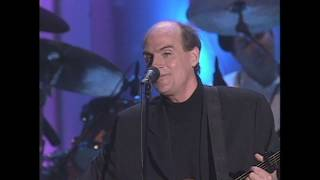 """James Taylor performs """"Fire and Rain"""" at the 2000 Rock & Roll Hall of Fame Induction Ceremony"""