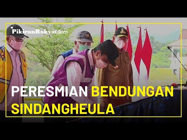 Presiden Joko Widodo Meresmikan Bendungan Sindangheula di Kabupaten Serang dan Ungkap Manfaatnya