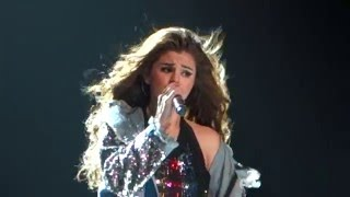 Selena Gomez Singing Sweet Dreams are Made of These Revival Tour at Rogers Arena in Vancouver BC