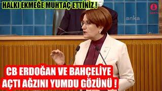 Meral Akşener CB Erdoğan ve Bahçeli'ye Fena yüklendi !