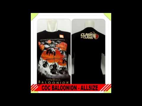 Clash of clans t-shirt distro