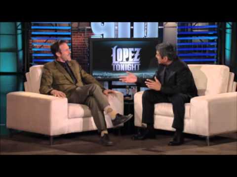 David Arquette at Lopez Tonight