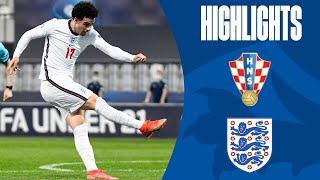 Croatia U21 1-2 England U21 | Late Goal Knocks Out Young Lions | UEFA U21 Championship