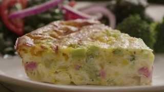 Easy Quiche Recipe - How To Make Quiche