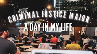 CRIMINAL JUSTICE MAJOR: Lecture classes + traveling for work