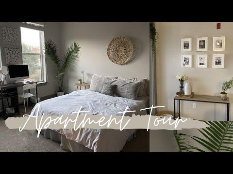 APARTMENT TOUR! 1 BEDROOM APARTMENT IN CHARLOTTE, NC | Gianna Lauren