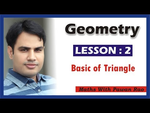 Basics of  Triangles in Hindi & English - Problems & Solutions for SSC, SSC CGL, CDS, SSC CHSL, CET