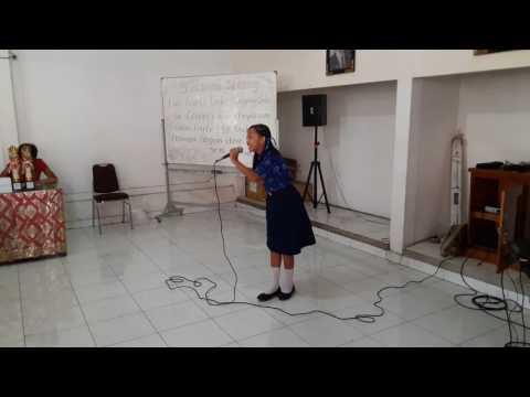 Doa Anak Negeri & Ratu Sejagad (Kiera) Juara 1 Lomba PSR Tingkat Kecamatan Denpasar Utara 2017