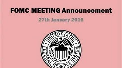 Fed January 2016 announcement makes March Interest Rate rise less likely