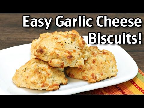 Easy Garlic Cheese Biscuits - YouTube