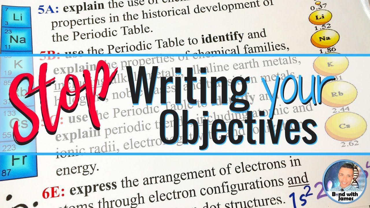 The historical development of the periodic table images periodic student objectives stop writing your student learning objectives student objectives stop writing your student learning objectives gamestrikefo Choice Image