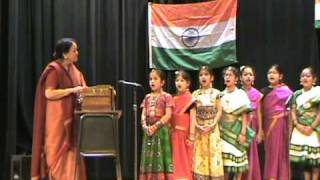 Shreena Bhatt - Vande Maatram - Patriotic Song - IAB Buffalo - India Republic Day 2009