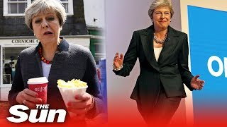 Theresa May's most memorable moments as PM