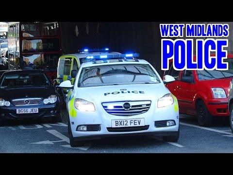 BULLHORN - West Midlands Police x2 urgently responding