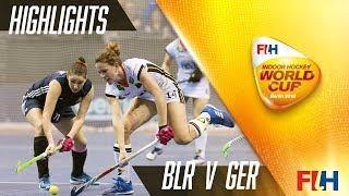 Belarus v germany - match highlights indoor hockey world cup women's semi final