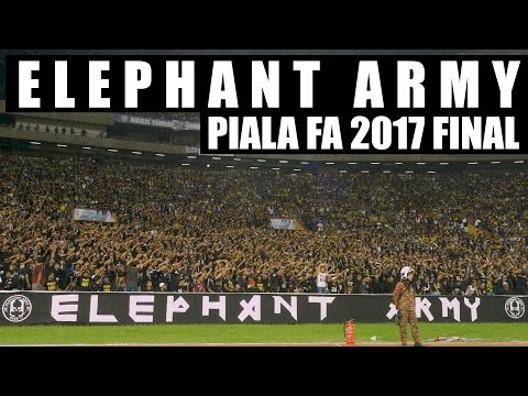 ELEPHANT ARMY Chant - Piala FA 2017 Final (Ultras Pahang)