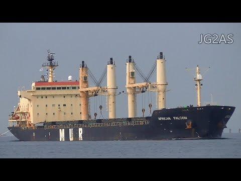 AFRICAN FALCON バラ積み船 Bulk carrier MUR Shipping 2017-JAN