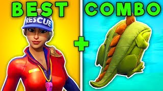 TOP 10 BEST SKIN + BACKBLING COMBOS! (Fortnite SEASON 5 Combinations!)