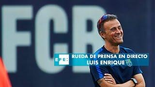 R.de P. del entrenador del FC. Barcelona  previa al partido de Champions