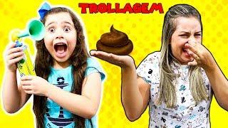HELOÍSA E MAMÃE EM TRUQUES DE BEBÊ (Baby tricks)