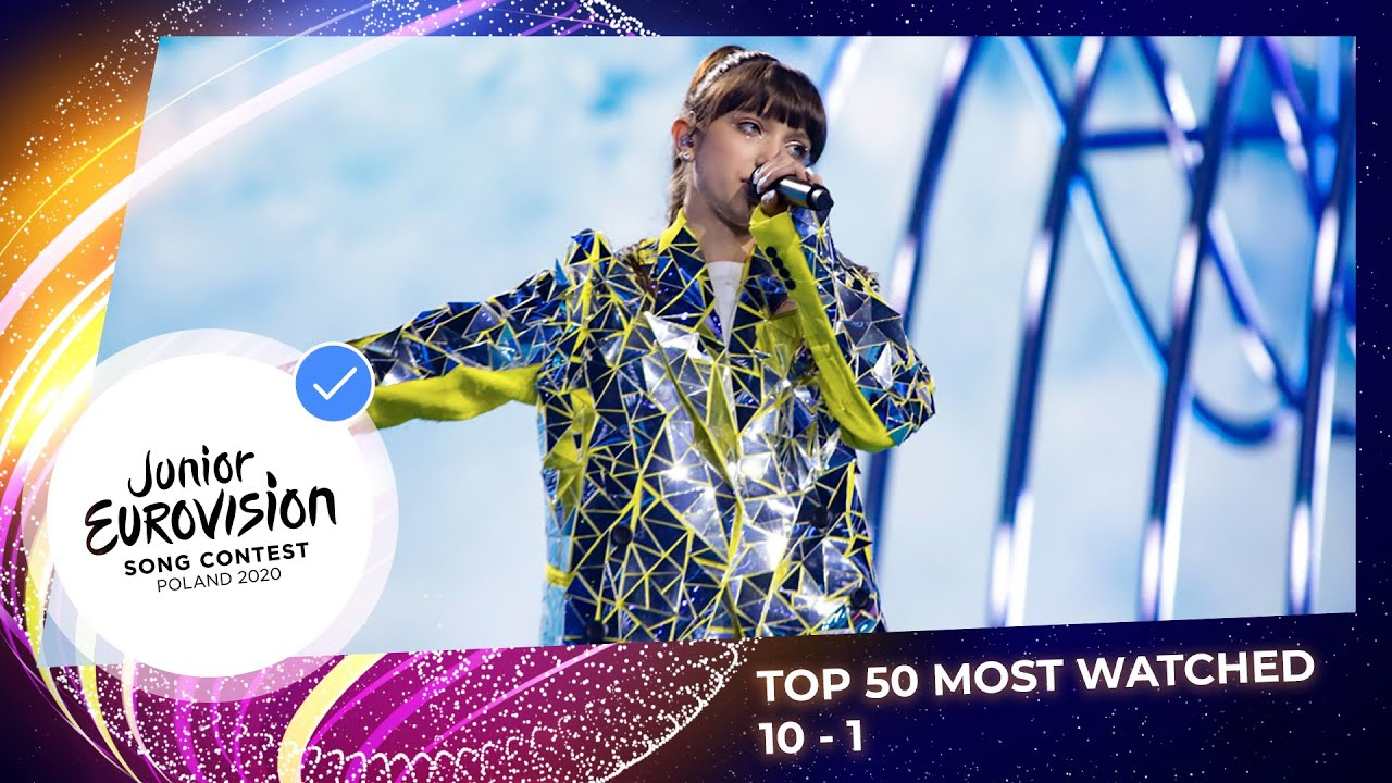 TOP 50: Most watched in 2020: 10 TO 1 - Junior Eurovision Song Contest