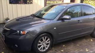 Mazda 3 замена штатной акустики