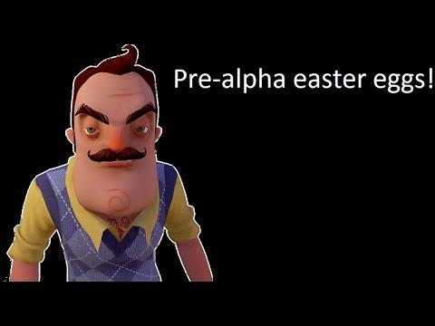 Hello Neighbor pre alpha easter eggs thumbnail