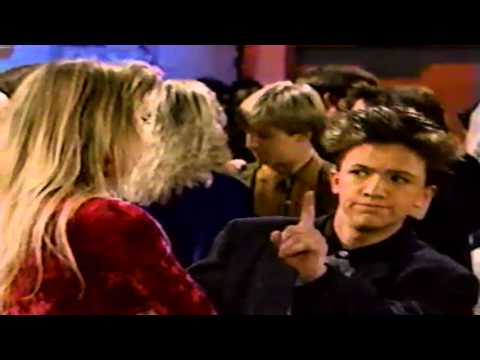BoJesse with Christina Applegate and David Faustino in Married With Children 1989