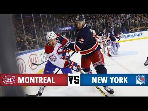 Montreal Canadiens vs New York Rangers | Season Game 60 | Highlights (21/2/17)