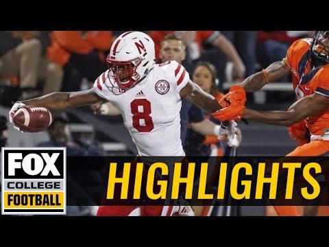 Nebraska vs Illinois | Highlights | FOX COLLEGE FOOTBALL