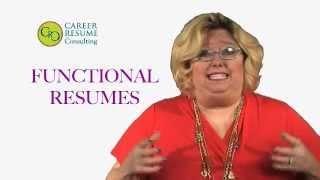 How to Create a Functional Resume - Career Resume Consulting