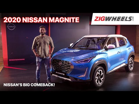 Nissan Magnite 2020: First Look Review | A formidable Sonet Rival? | ZigWheels.com