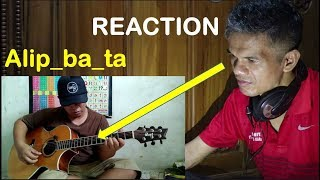 "Gambar cover Alip ba ta - Sadness and Sorrow - Ost Naruto (guitar cover) -""REACTION"""