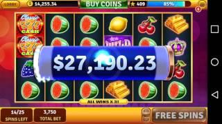 House of fun classic cash win!!