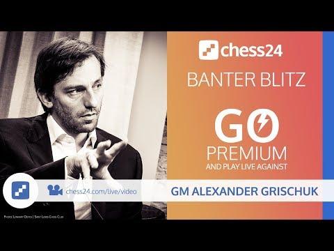 Banter Blitz with GM Alexander Grischuk - November 9, 2018