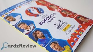 Panini Road to UEFA Euro 2016 France stickers album review
