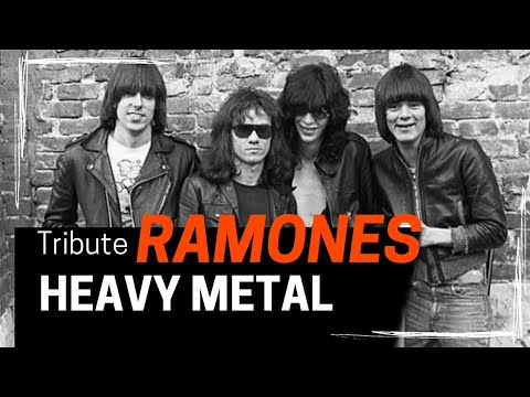 Ramones tributo Heavy Metal 🤘