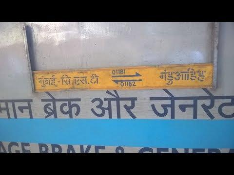 Onboard 01181 Mumbai - Manduadih Special Mumbai To Gyanpur Road(Bhadohi)