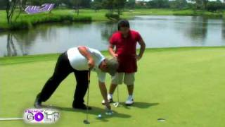 Golf Guru - How To Align Your Eyes Over The Ball