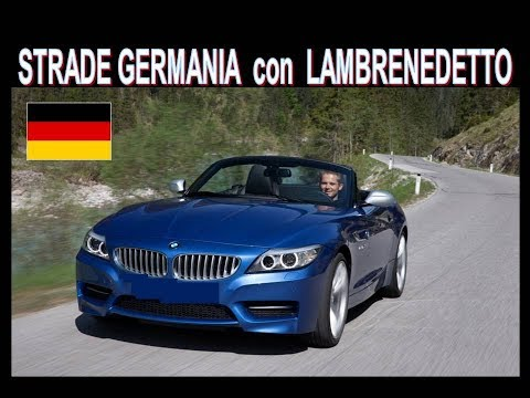 Le strade in Germania con Lambrenedetto ( strade top non solo Bmw-Mercedes-Audi)