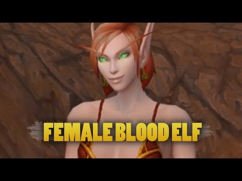 Blood Elf Female new model PTR 6.1 + voice emotes from YouTube · Duration:  3 minutes 17 seconds