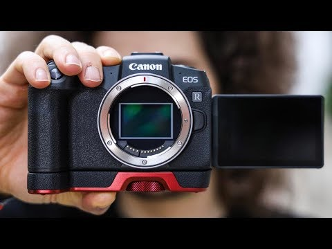 OFFICIAL Canon EOS RP Hands On PHOTO SHOOT | a GAME CHANGING $1,299 Full Frame CAMERA?!