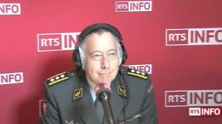 L'invité de la rédaction - André Blattmann, cmdt de corps, chef de l'armée suisse