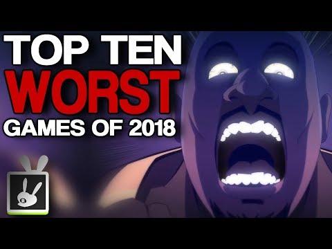 Top Ten Worst Games of 2018 - rabbidluigi