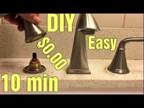 stuck or hard to turn price pfister faucet handle easy 0 repair