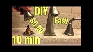 Stuck or Hard to Turn Price Pfister Faucet Handle. Easy $0 repair.